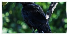 The Crow  Hand Towel