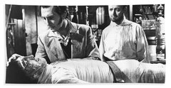 The Curse Of Frankenstein 1957 Baron Victor Frankenstein Bath Towel