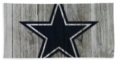 The Dallas Cowboys C2                              Hand Towel by Brian Reaves