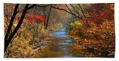 The Dan River Hand Towel by Kathryn Meyer