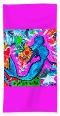 The Dancing Mermaid Bath Towel