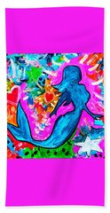 The Dancing Mermaid Bath Towel