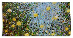 The Dandelion Patch Hand Towel