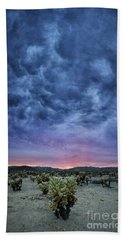 The Dark Sunset 2 Bath Towel