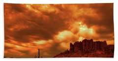 The Day The Sky Burned Hand Towel
