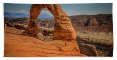 The Delicate Arch Hand Towel