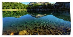 The Depths Of Lake Helen Bath Towel