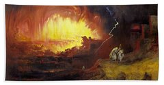 The Destruction Of Sodom And Gomorrah, 1852, By John Martin Bath Towel