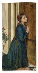 The Devout Childhood Of Saint Elizabeth Of Hungary, 1852 Bath Towel