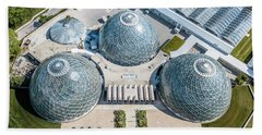 Hand Towel featuring the photograph The Domes by Randy Scherkenbach