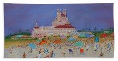 The Don Cesar,st.pete's Beach Bath Towel
