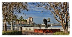 The Downtown Bradenton Waterfront Bath Towel