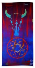 The Dreams We Catch Hand Towel by Justin Moore