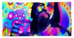 The Dude The Big Lebowski Jeff Bridges Bath Towel by Tony Rubino