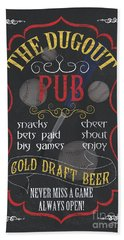 The Dugout Pub Hand Towel