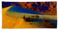 The Dunes At Dusk Hand Towel