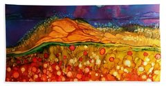 The Dunes At Night Hand Towel