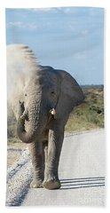 The Dust Bath - Namibia, Africa Hand Towel