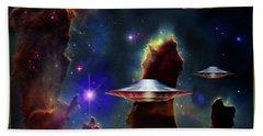 The  Eagle  Nebula  Hand Towel