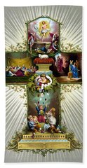 The Easter Cross Hand Towel