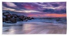The Edge - Folly Beach, Sc Hand Towel