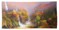 Kingdom Of The Elves Bath Towel