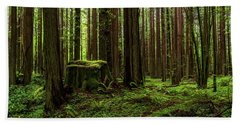 The Emerald Forest Hand Towel
