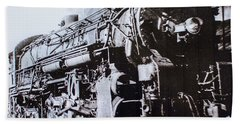 Bath Towel featuring the photograph The Engine  by Jeanne May