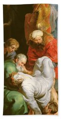 The Entombment Of St Stephen Hand Towel