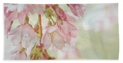 Hand Towel featuring the photograph The Essence Of Springtime  by Connie Handscomb