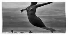 The Estranged Ocean Hand Towel