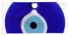 The Eye Against Evil Eye Bath Towel