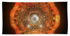 The Eye Of Cyma - Fire And Ice - Frame 160 Bath Towel