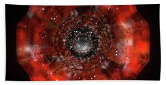 The Eye Of Cyma - Fire And Ice - Frame 45 Bath Towel