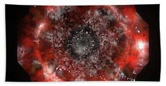 The Eye Of Cyma - Fire And Ice - Frame 49 Bath Towel