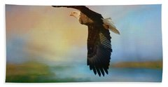 The Eye Of The Eagle Hand Towel