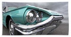 The Eyes Have It - 1964 Thunderbird Hand Towel by Gill Billington