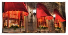 Hand Towel featuring the photograph The Fairmont Copley Plaza Hotel - Boston by Joann Vitali