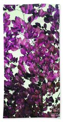 The Fall - Intense Fuchsia Bath Towel