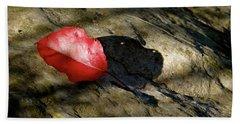 The Fallen Leaf Hand Towel