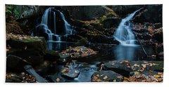 The Falls Of Black Creek In Autumn IIi Bath Towel
