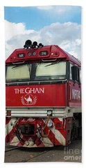 The Famed Ghan Train  Hand Towel
