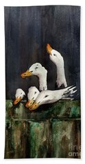 The Family Portrait Bath Towel