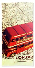 The Famous Red Bus Bath Towel