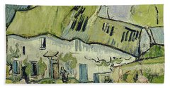 The Farm In Summer Hand Towel