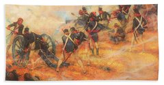 The Final Stand At Bladensburg Maryland In Defense Of Washington D C Bath Towel