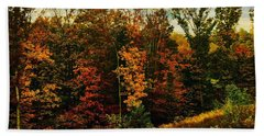 The First Days Of Fall Hand Towel
