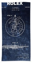 The First Rolex Patent Hand Towel