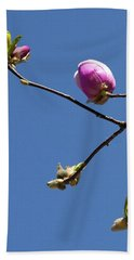 The First To Bloom Bath Towel