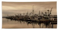 The Fishing Fleet Bath Towel